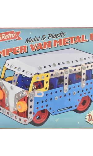 IHT Retro Camper Van Metal Kit
