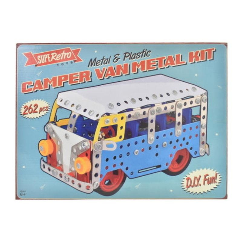 IHT Retro Camper Van Metal Kit