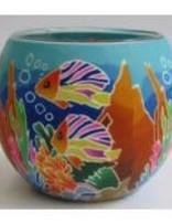 GI Tropical Fish Glowing Glass
