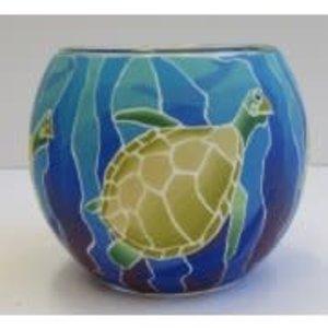GI Turtles Glowing Glass