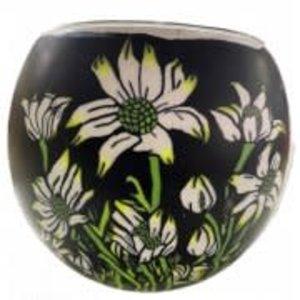 GI Aust. Fannel Flowers G/glass