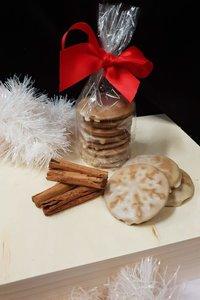 Homemade Gingerbread w/cinnamon Glaze 200g