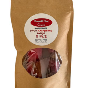 MC Chocolate Raspberry Fudge 8pc