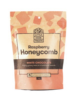 MC Honeycomb Raspberry While Choc 150g