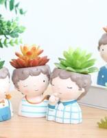Ceramic Boy Pots