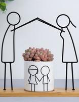 Ceramic Pot Family