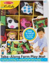 BNP M & D Farm Playmat Take Along