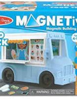 BNP M & D Food Truck Magnetivity Playset