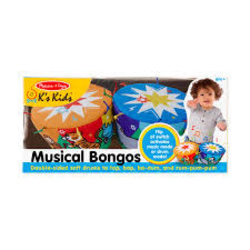 BNP M & D Misical Bongos K Kids