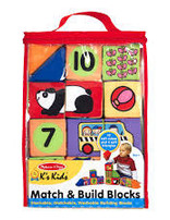 BNP M & D Kids Match & Build Blocks