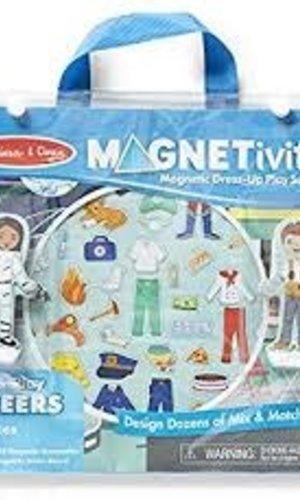 BNP M & D Careers Magnetivity Playset