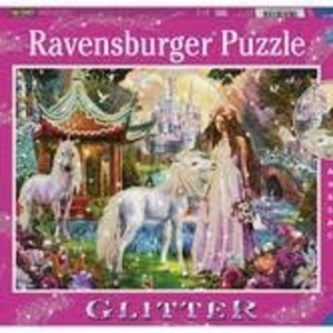 BNP Princess W Unicorn Glitter Puzzle Ravens