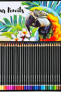 Colour Pencils 36 TIN