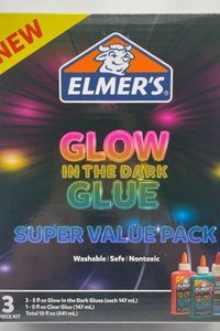 Elmer's Glow in The Dark Value Pack