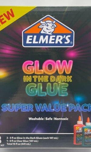 Elmer's Glow in The Dark Value Pack