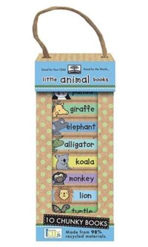 M & D Little Animals Book Tower