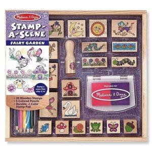 M & D Farm Stamp A Scene
