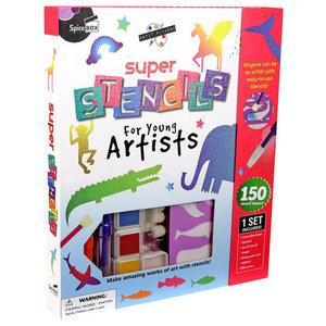 Super Stencil Set Spicebox