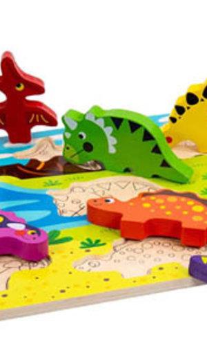M & D Chunky Dinosaur Puzzle