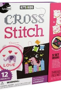 Cross Stich Kit Spicebox