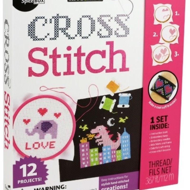 Cross Stich Kit Spicebox