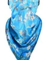 Mask It Scarf Floral -aqua