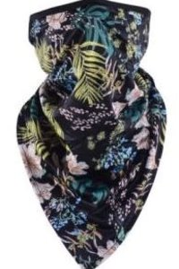 Mask It Scarf Tropical- Black