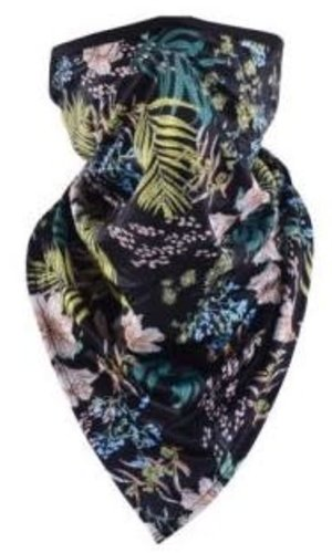 Mask It Scarf Tropical- Black