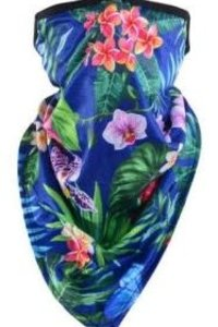 Mask It Scarf Tropical- NAVY