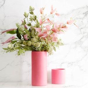 Ceramic Cylinder Vase 10cm X20cm