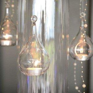 Hanging Teardrop Vase 8CM