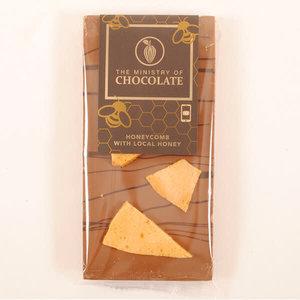 Milk Choc Honeycomb 100g Bar