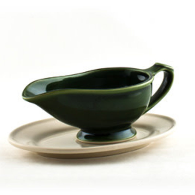 BPA Gravy Boat with Plate Ascot