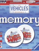 Ravensburger - Vehicles Memory Game
