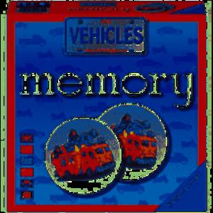 Ravensburger - Vehicles Memory Game