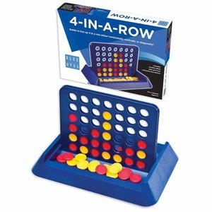 Blue Opal - 4 In A Row - Travel Game