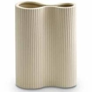 Ribbed Infinity Vase Small
