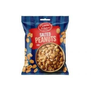 Salted Peanuts 150g Famous Makers