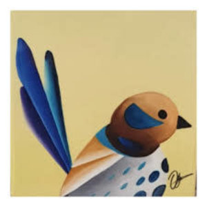 Ceramic Coaster Wren