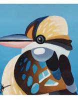 Ceramic Coaster Kookaburra