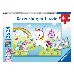 BNP Fairytale Unicorn  Puzzle Ravensburger
