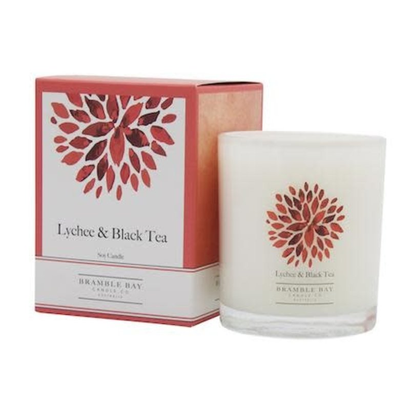 SI 250g Lychee and Black tea Candle