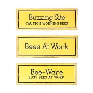 Bee Garden Sign (random Selection)