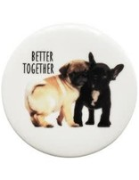 Puppy Coaster 10cm