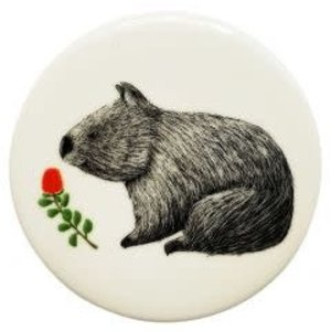 Rt Wombat Coaster 10cm