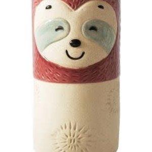 Sloth Vase Berry 10X20cm