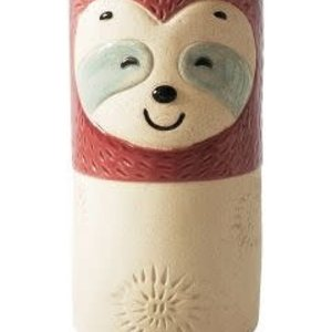 Sloth Vase Berry W/stand