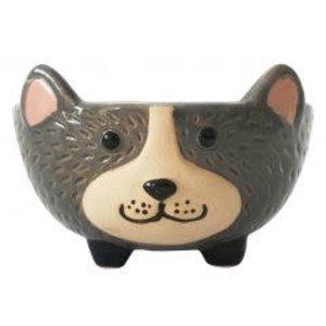 Dog Bowl gray Small