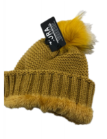 Ginger Yelllow Knitted Hat Gsh45