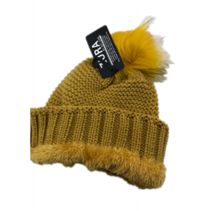 GINGER YELLOW KNITTED HAT GSH45